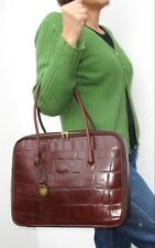MULBERRY Laptop / Business Bag Large Tote Brown Congo Leather 37 cm + Dustbag