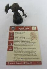 Demonic Gnoll Priestess #46/60 Miniature w/Card Blood War D&D WOTC 2006