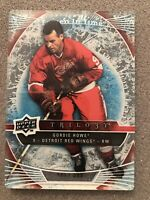 2009-10 Upper Deck Trilogy Gordie Howe #105 Frozen In Time /599 NHL Insert