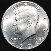 1971 | U.S.A. Kennedy Half Dollar | Cupro-Nickel Clad Copper | Coins | KM Coins