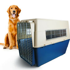 AIRLINE COMPLIANT PET CARRIER, DOG CRATE 100 X 67 X 75CM (H) -  EXTRA LARGE