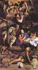 Maino Fray Juan Bautista Adoration Of The Shepherds A3 Box Canvas