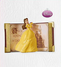 2010 Hallmark ONCE UPON A TIME Disney BELLE Ornament BEAUTY & BEAST