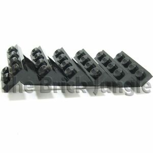 Lego stair step staircase BLACK city train wars star lot ladder parts town