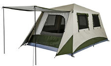 OZTRAIL (2-ROOM) CABIN SWIFT PITCH TOURER INSTANT UP TENT POP UP (SLEEPS 8)