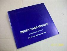 benet sarsanedas -- catalogue -
