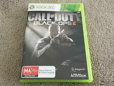 CALL OF DUTY BLACK OPS II (2) ~ microsoft XBOX 360 game ~ Complete