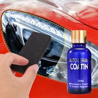 Car Headlight Lens Restoration System Repair Kit Plastic Light Polishing Cleaner