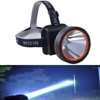 Super Bright Searchlight Handheld Portable Spotlight LED Rechargeable Headlamp