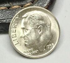 1953-D Denver Mint Gem+ Uncirculated FB Silver Roosevelt Dime  FC39