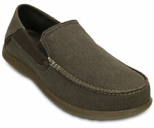 Crocs Santa Cruz 2 Men US 10 Brown Loafer Pre Owned 1717
