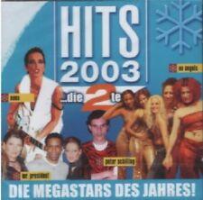 CD: HITS 2003 ...die 2te (Nena, No Angels u.a.) NEU+OVP