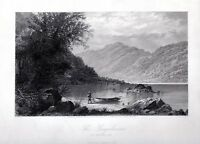 Susquehanna River Hunters Gap Pennsylvania 1874 FREEPOST