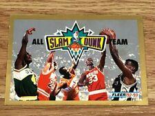 1992-93 Fleer All Slam Dunk Team Short Print NNO - Michael Jordan - Read Desc