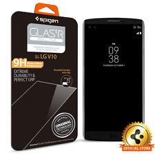 Spigen® LG V10 [GLAS.tR SLIM] Shockproof Clear Tempered Glass Screen Protector