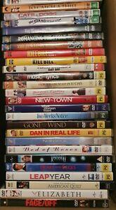 DVD Movie Film 100 Titles - Drama Romance Comedy Sci-Fi Thriller hits R4 VGUC