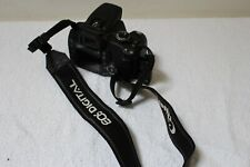 Canon Digital Camera EOS 350D for spares/repairs Card pin bent fault with strap