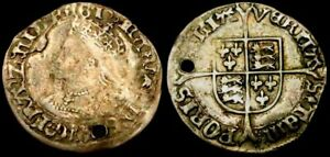 W268: Mary Tudor Hammered Silver Groat, ex Spink, ex Eccles colln., Spink 2492