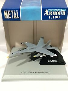 ARMOUR F-18 HORNET U.S. MARINES ART. 5021 SCALE 1:100
