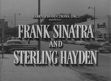 Film Noir: SUDDENLY, 1954, FRANK SINATRA classic  thriller: DVD-R Region 2