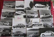 N°8005 /  OPEL : 20 photos berline Kadett,Kadett GSE et Corsa 1983-1988