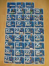 Schalke 04 - Autogrammkartensatz - Saison 2016/17