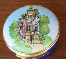 Halcyon Days Enamel England San Francisco Victorian Gump's Trinket Box