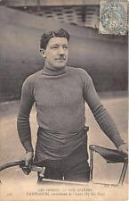 CPA THEME CYCLISME NOS STAYERS DARRAGON RECORDMAN DE L'HEURE