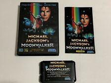 Michael Jackson Moonwalker SEGA Mega Drive Japan Genesis Complete Genuine