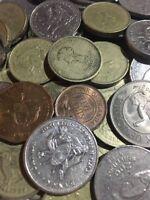 100 Gramm Restmünzen/Umlaufmünzen Uganda