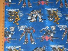 TRANSFORMERS,  1 YD , COTTON, NEW