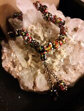 "Vintage Ethnic Tradition Worry Beads 14"" Beaded Chain"
