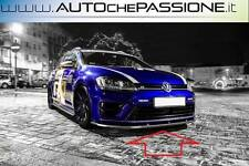 Splitter/Spoiler lama anteriore per VW Golf VII 7 R 2012>2017