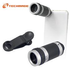 TECHMADE TECHMADE 8X TELESCOPIO O TTICO PER S MARTPHONE SILVER COLOR TM-BR-001
