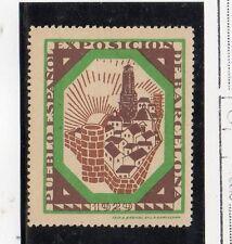 España Viñeta Conmemorativa Exposición Barcelona año 1929 (DA-77)