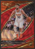 2019-20 Select COURTSIDE Prizms T-Mall RED WAVE #257 Ty Jerome RC Rookie Suns