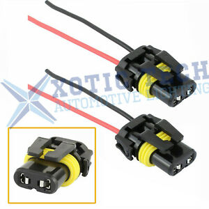 Universal 9005 9006 Adapter Wiring Harness Sockets Wire For Headlights Fog Light