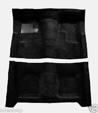ACC * BLACK * 1974-1979 NOVA 2-DR AUTOMATIC CARPET SET NEW MOLDED FLOOR RUG USA
