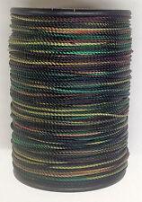 Green Camo BCY Nock & Peep Bow String Serving Bowstring Nylon