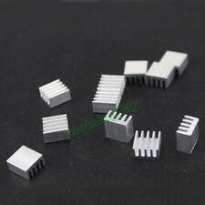 50pcs 8.8x8.8x5mm Aluminum IC  VGA Card Xbox360 DDR RAM Memory Cooling Heatsink