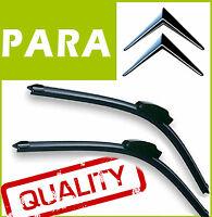 2 Escobillas Limpiaparabrisas Flexibles para Citroen XSARA PICASSO 1999-2005