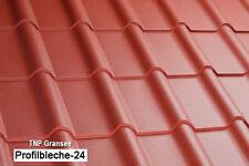 Dachziegelblech Pfannenblech Dachplatten Kron 350/15 0,5mm Polyester 25µm