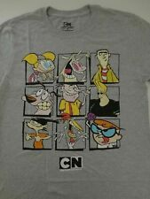 New Licensed Cartoon Network Classic Characters Edd Dexter Tee Shirt S-2XL
