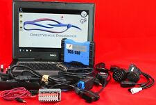 Car Diagnostic Laptop Tablet Computer Tool up to 2018.  With Extra Cables.
