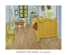 MODERN ART PRINT - The Bedroom, 1888 by Vincent van Gogh Poster 20x24