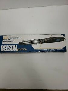 Belson Pro Curlmaster 3/4 Inch Professional Dual-Heat Brush Iron