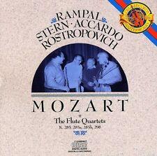 Jean-Pierre Rampal, W.a. Mozart - Flute Quartets [New CD]