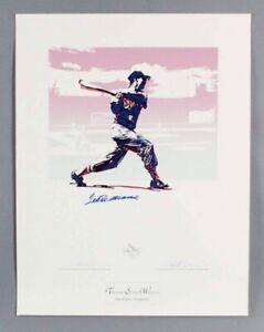 Ted Williams Signed Print (Carlo Beninati Artist Proof) AP LE 25/29 - COA JSA