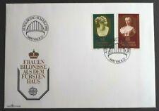 1980 Liechtenstein Stamp FDC - Europa 1980  - 10/3/80 - Unaddressed