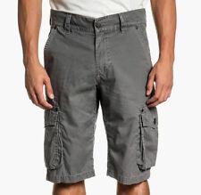 Affliction Black Premium - PARKER - Men's Cargo Shorts - NEW - Grey